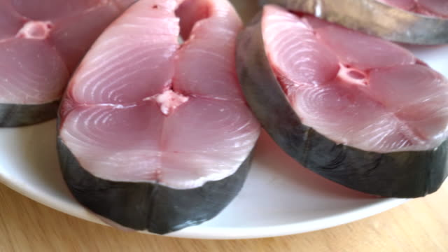 fresh mackerel steak