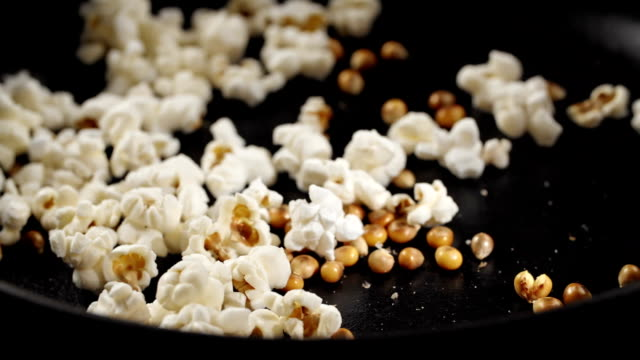 fresh popcorn popping - popcorn stock videos & royalty-free footage