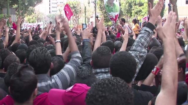 fresh protests broke out in cairo on sunday as football fans continued to voice their concerns after the egyptian football association banned... - port said stock videos & royalty-free footage