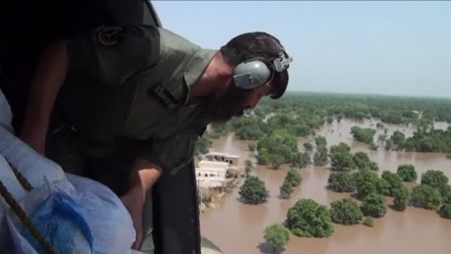 fresh rain hampers rescue operations in indian kashmir a week after deadly floods swamped the himalayan region with medics and survivors describing... - multan stock videos and b-roll footage