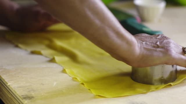 fresh ravioli - italian culture stock videos & royalty-free footage
