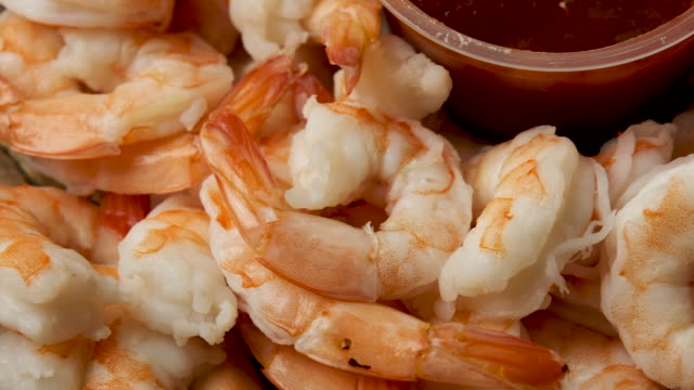 fresh shrimps from above - decapitated stock videos & royalty-free footage