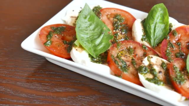 HD Fresh Tomato And Mozzarella cheese