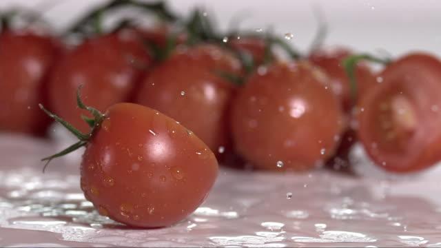 fresh tomato cut into halfs V3