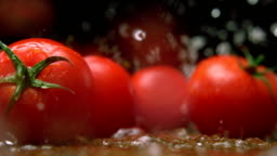 Fresh tomatoes, Slow Motion