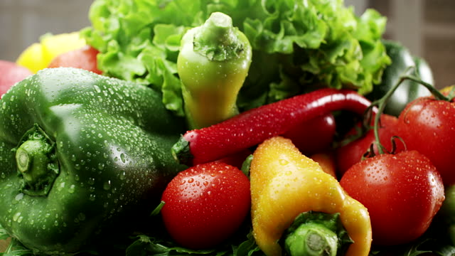 fresh vegetable - healthy eating stock videos & royalty-free footage