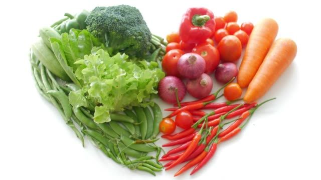 fresh vegetables for healthy food cooking - dieting stock videos and b-roll footage