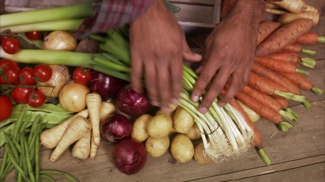 Fresh vegetables Sweden.