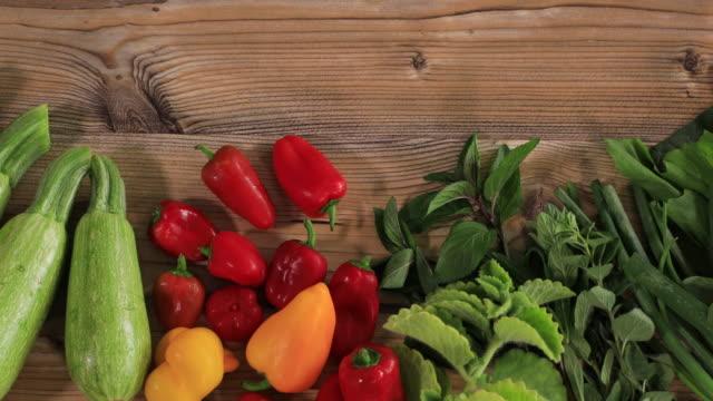 fresh vegetables - crucifers stock videos & royalty-free footage