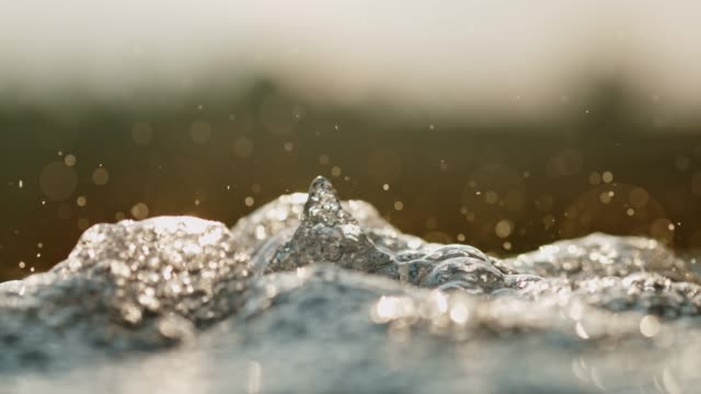 cu fresh water bubbling from source - 4k resolution stock videos & royalty-free footage