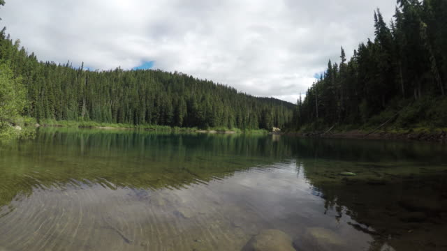 Fresh water lake in Garibaldi Park