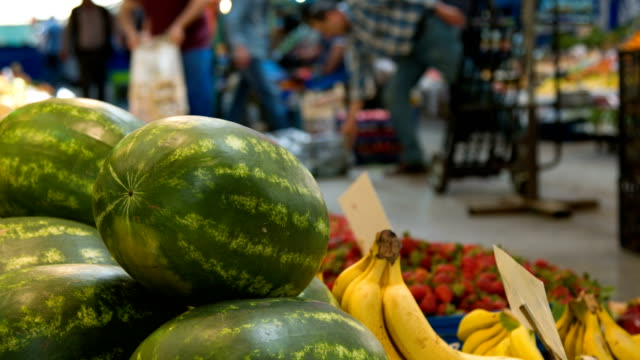 fresh watermelons - market stall stock videos & royalty-free footage