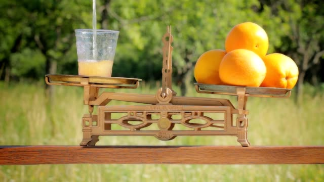 freshly squeezed orange juice - man made object stock videos & royalty-free footage