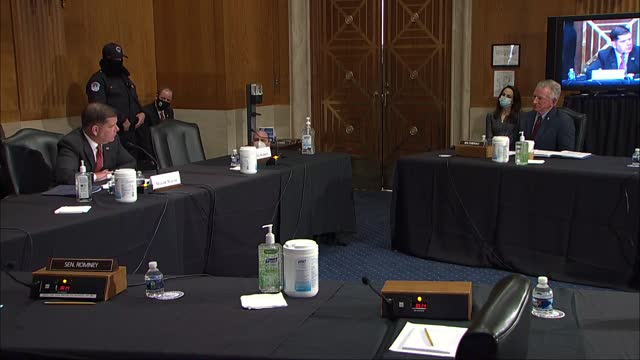 freshman alabama senator tommy tuberville tells labor secretary nominee marty walsh at senate help committee nomination hearing his was a right to... - labor union stock videos & royalty-free footage