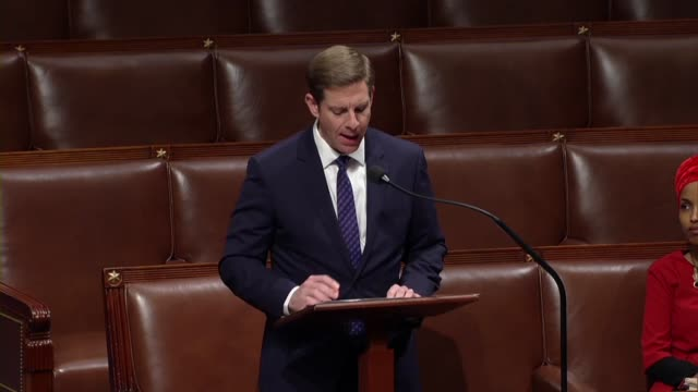 freshman california congressman mike levin says on day 26 of a partial government shutdown that democrats support expanding port of entry... - day26 stock videos & royalty-free footage