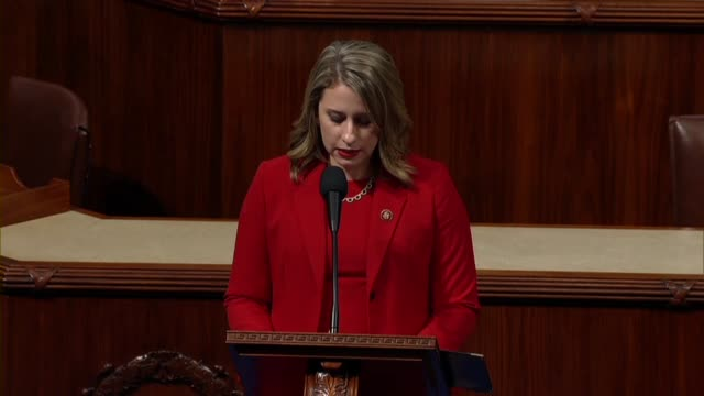 freshman congresswoman katie hill of california says in her final speech to the house before resigning office that she was leaving congress because... - hill点の映像素材/bロール