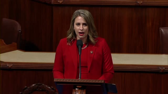 freshman congresswoman katie hill of california says in her final speech to the house before resigning office that to everyone who supported him... - hill点の映像素材/bロール