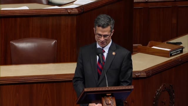 vidéos et rushes de freshman pennsylvania congressman dan meuser says on day 20 of a partial government shutdown that 17000 criminals were apprehended by customs and... - tentation