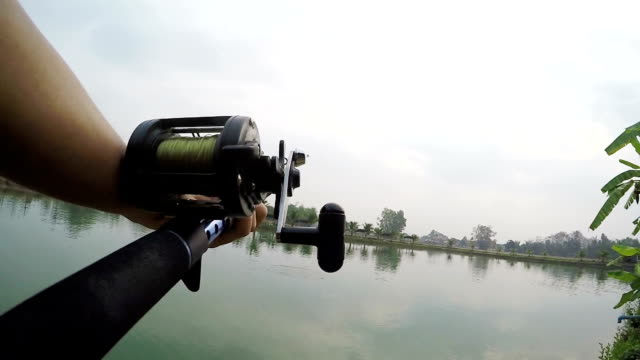 freshwater fishing. - fishing reel stock videos and b-roll footage