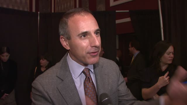 friars club roast of matt lauer, new york, ny - ann curry stock videos & royalty-free footage