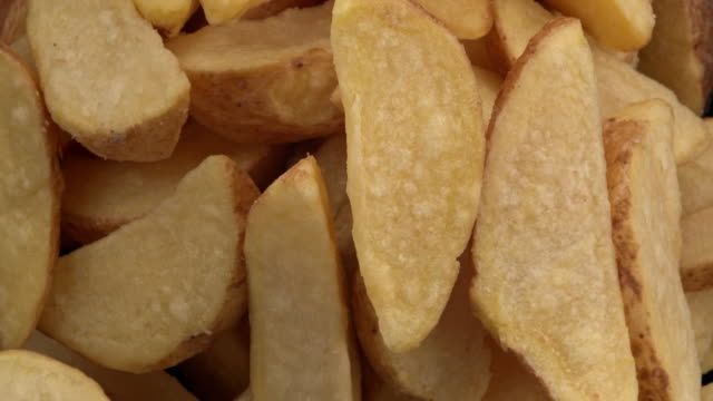 fried potatoes in the air - fried stock videos & royalty-free footage