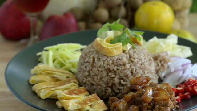 fried rice - black eyed peas stock videos & royalty-free footage