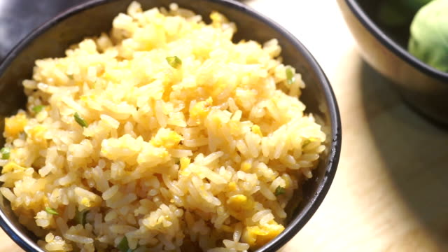 fried rice - fried rice stock videos and b-roll footage