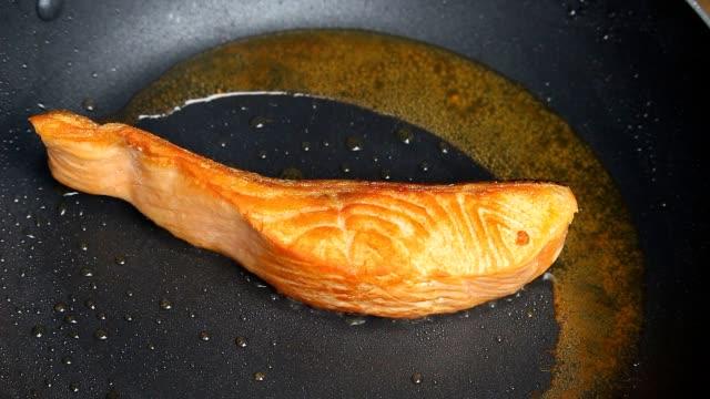 Fried Salmon Fish
