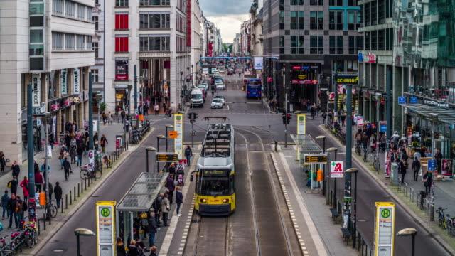 Einkaufsstraße Friedrichstraße in Berlin