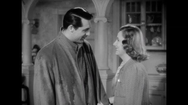 1941 Friend (Edgar Buchanan) facilitates conversation about adoption between couple ( Cary Grant & Irene Dunne)