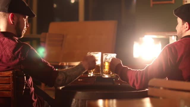 Friends at the pub