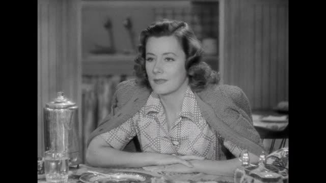 1941 Friends (Edgar Buchanan and Irene Dunne) discuss adoption