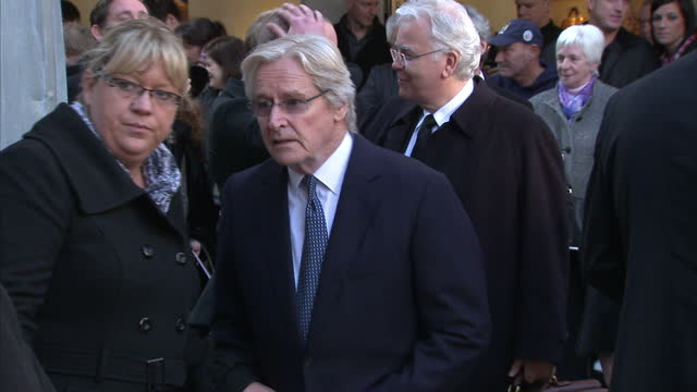 friends, family & fellow actors gathered in manchester earlier to say farewell to coronation street's betty driver who died a week ago. hundreds of... - soap opera stock videos & royalty-free footage