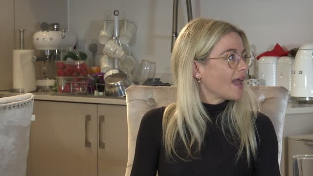 friends of the late big brother star nikki grahame felt let down by hospital system; england: int carly cunningham interview sot - news not politics stock videos & royalty-free footage
