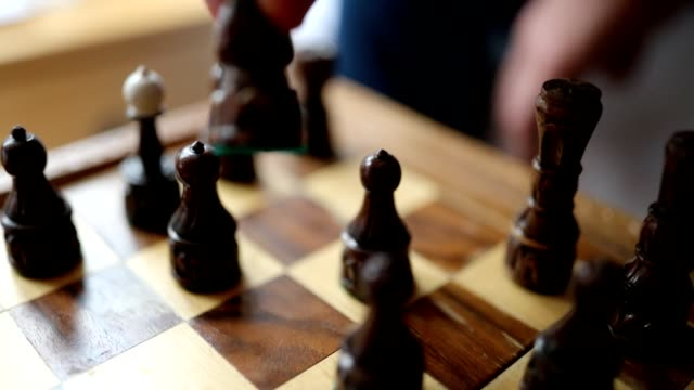 friends playing chess in the hostel - rivalry stock videos & royalty-free footage