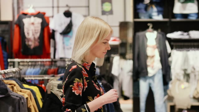 friends shopping - clothes shop stock videos & royalty-free footage