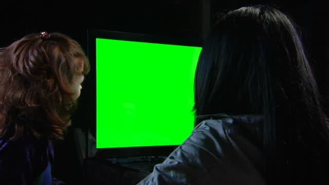 Friends Watch Chromakey TV - Left MS