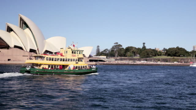 Friendship Ferry passes Sydney Opera House