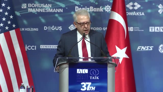 friendship was reiterated tuesday by the turkish ambassador to the us to describe ankara's current relationship with washington serdar kilic who has... - botschafter stock-videos und b-roll-filmmaterial