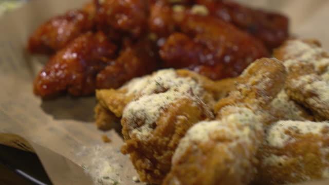 fries chicken korean style