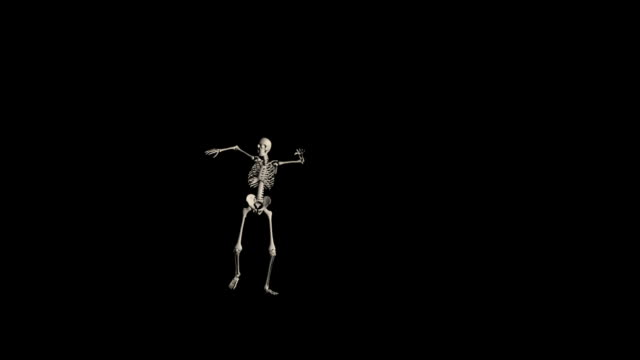 Frightful Skeleton Walk HD1080