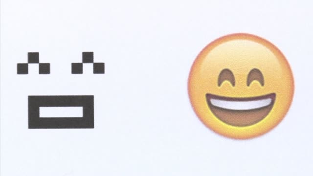 From a humble smiley face with a box mouth and inverted 'V's' for eyes crude weather symbols and a rudimentary heart emoji have now exploded into the...