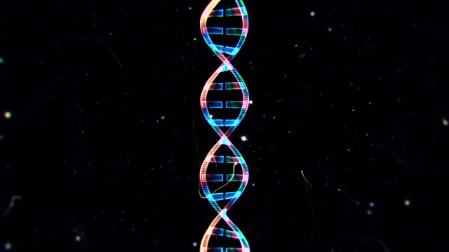 dna from a particle vortex - genetic research stock videos & royalty-free footage