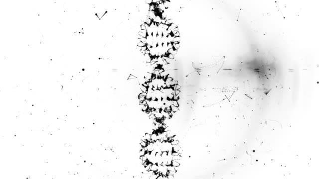dna from a plexus vortex - lymph node stock videos & royalty-free footage