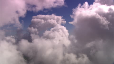 pov, from airplane clouds, dorset, england - cloud sky stock videos & royalty-free footage