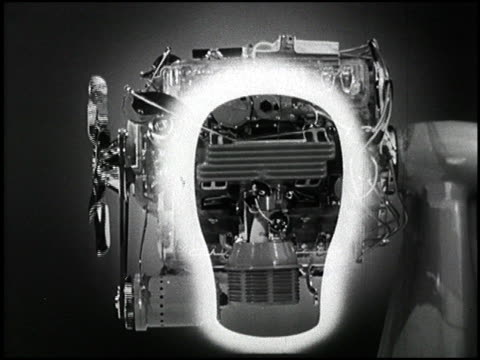 from an old jam handy chevrolet film this clip shows how fuel injection works in a gasoline engine how fuel injection works in a car engine on... - chevrolet stock videos & royalty-free footage