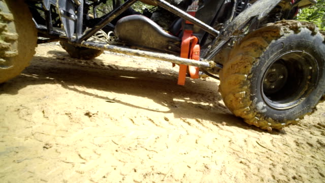 pov from atv car - dirt road stock videos and b-roll footage