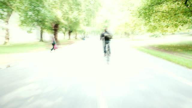 HYDEPARK LONDON : from bike (LOOP)
