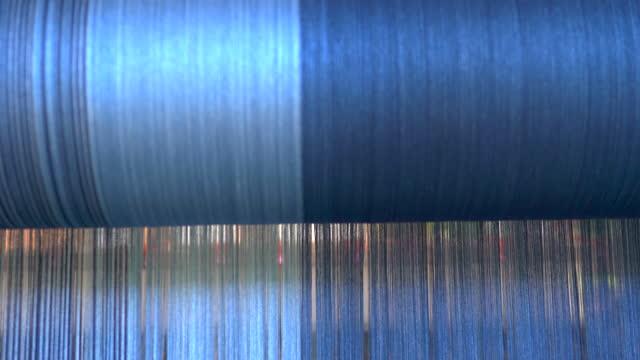from indigofera tinctoria to true indigo on thread fiber - dye stock videos & royalty-free footage