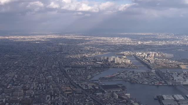 AERIAL, From Kobe To Osaka, Japan